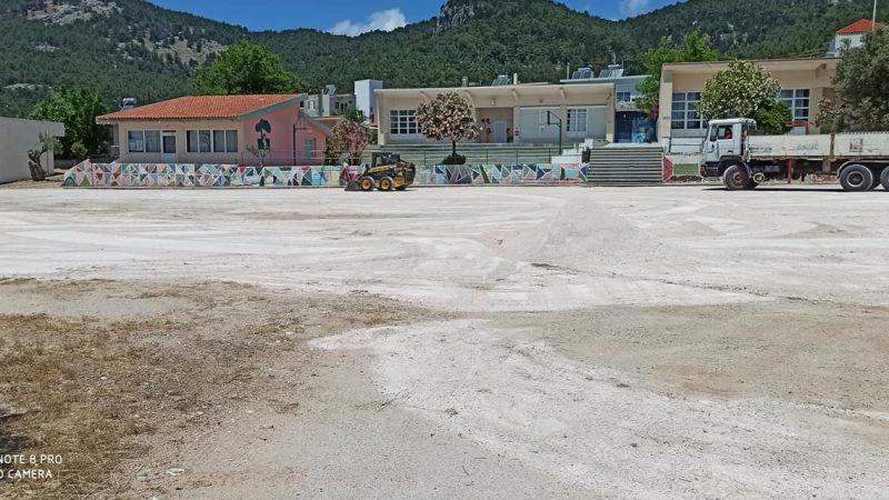 Άλλαξε όψη το δημοτικό σχολείο και το νηπιαγωγείο Απολλώνων