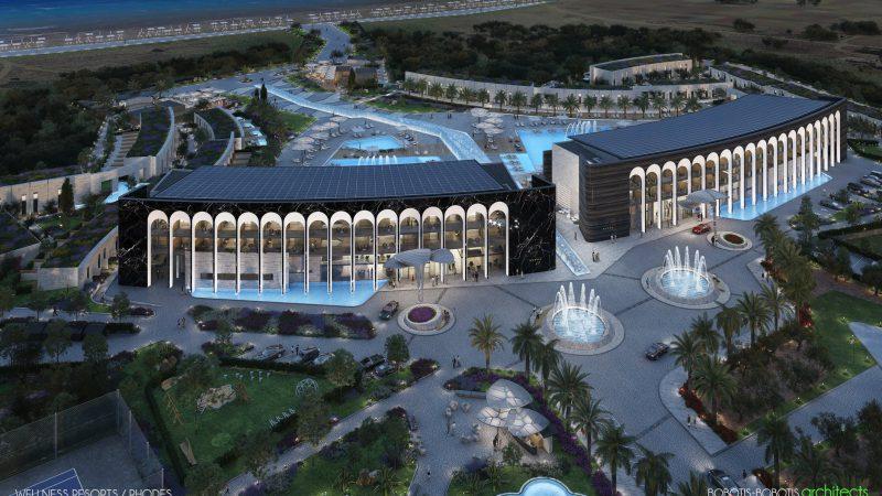 Το μεράκι της κατασκευής σε δυο νεα resort με προοπτικές και νέες τεχνολογίες ….