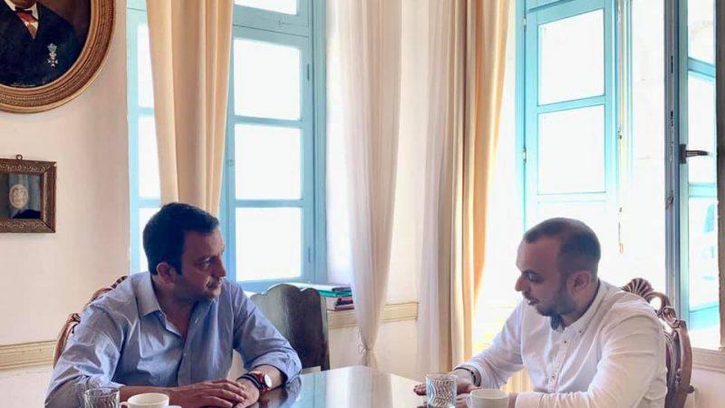 Στην Πάτμο ο πρόεδρος του ΤΕΕ Δωδεκανήσου Αντώνης Γιαννικουρής