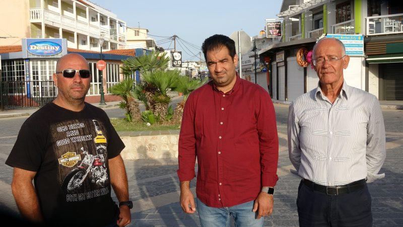video – Η ζωή στο Φαληράκι χωρίς τουρίστες….Μιλούν Αντωνάς , Αντωνίου και Γαλατάς
