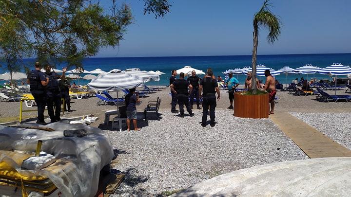 Μηνύσεις μεταξύ τους αντάλλαξαν ομπρελάδες και επιχειρηματίας στην κεντρική παραλία Ρόδου. Νέο επεισόδιο με απρόβλεπτη κατάληξη.
