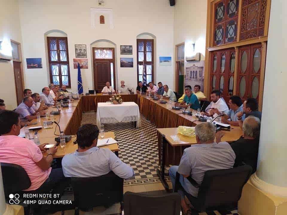 Επιτυχημένη η πρώτη συνάντηση προέδρων κοινοτήτων της Ρόδου.