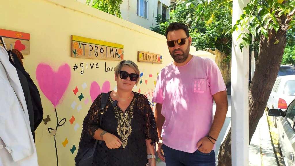 video- Ο τείχος της αγάπης στον ΔΟΠΑΡ. Μια κοινωνική προσφορά για όλους τους πολίτες της Ρόδου