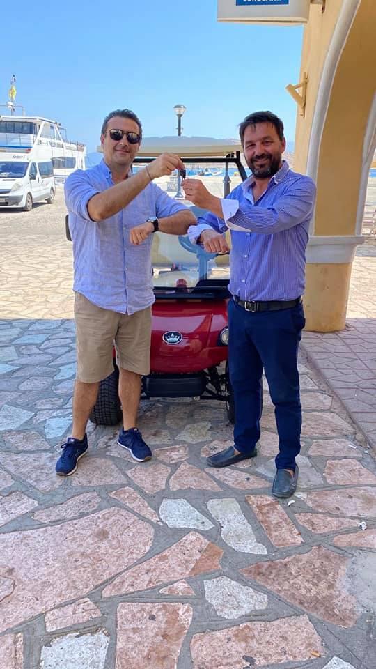 Ο Δήμος Χάλκης απέκτησε ηλεκτρικό αυτοκίνητο για ευπαθείς ομάδες