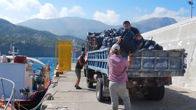 Ολοκληρώθηκαν οι δράσεις καθαρισμού στο Τρίστομο από τον Φορέα Διαχείρισης  Προστατευόμενων Περιοχών Δωδεκανήσου