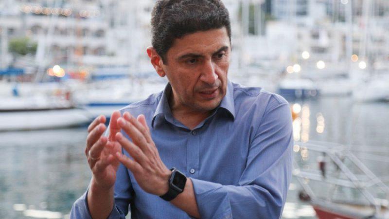 Ο απρόβλεπτος Λευτέρης Αυγενάκης . Αποκαλύπτει τα σχέδια του για την αναδιάρθρωση και άλλα αθλητικά ζητήματα