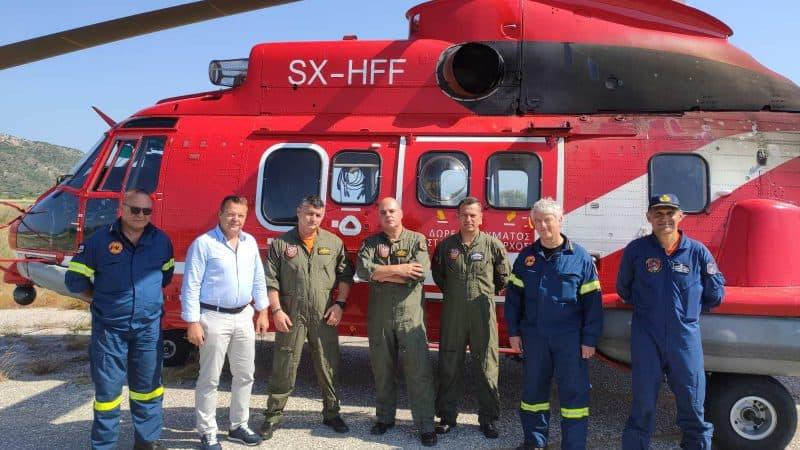 Χ. Ευστρατίου: «Σήμερα, ημέρα υψηλού κινδύνου για εκδήλωση πυρκαγιάς στη Ρόδο και τα γύρω νησιά, δύο ελικόπτερα της Πολιτικής Προστασίας και ένα πεζοπόρο τμήμα ΕΜΑΚ έρχονται να ενισχύσουν τον βαθμό αυξημένης ετοιμότητας των νησιών μας»
