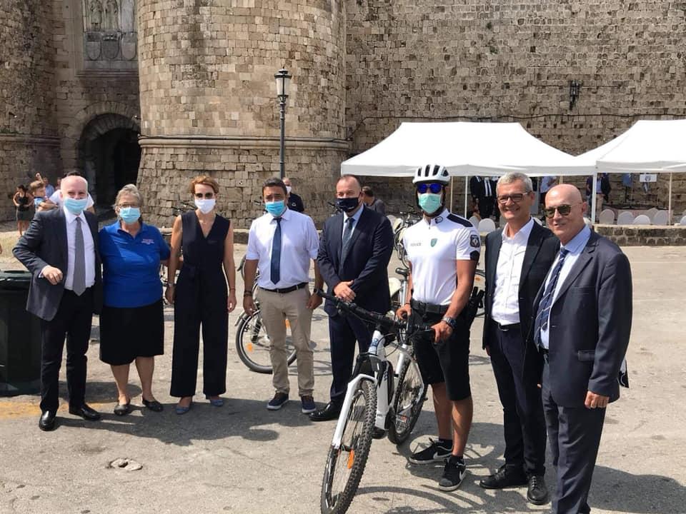 Ο Ιωάννης Παππάς στις δράσεις του Δήμου Ρόδου για την «Ευρωπαϊκή Εβδομάδα Κινητικότητας 2020»