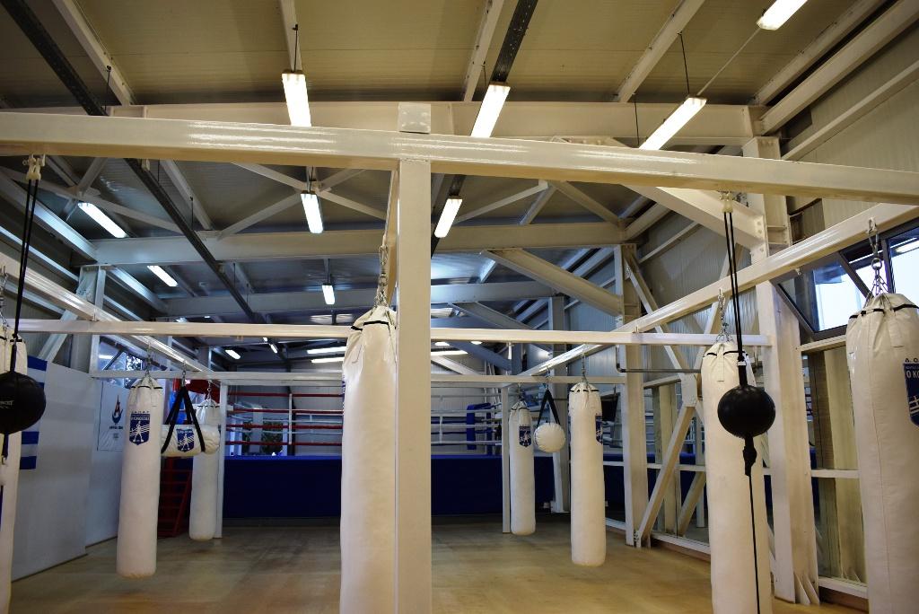 VIDEO Πραγματικό στολίδι το νέο γυμναστήριο πυγμαχίας στο Καλλιπάτειρα