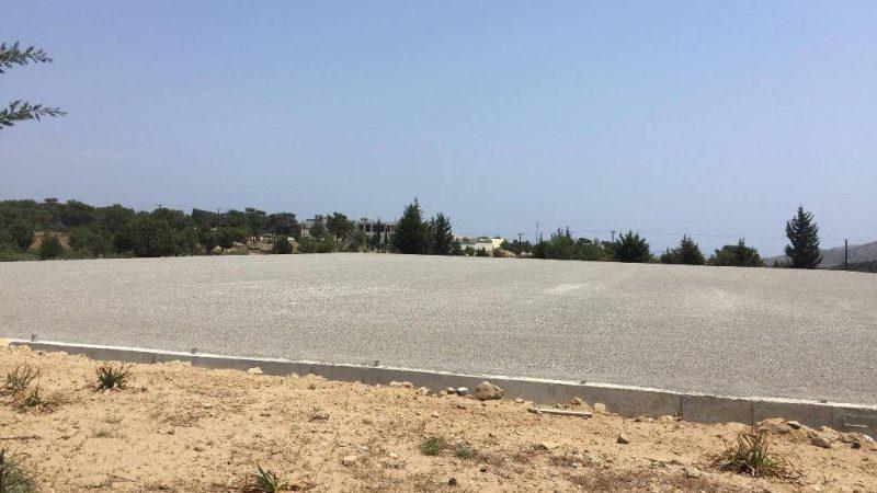 Προκηρύχθηκε επιτέλους το γήπεδο 9χ9 συνθετικού χλοοτάπητα στην περιοχή στην Λειβάδα Αρχαγγέλου.