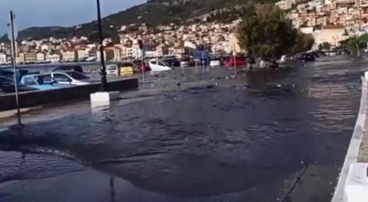 Βίντεο από το τσουνάμη που προκλήθηκε από σεισμό στην Σάμο