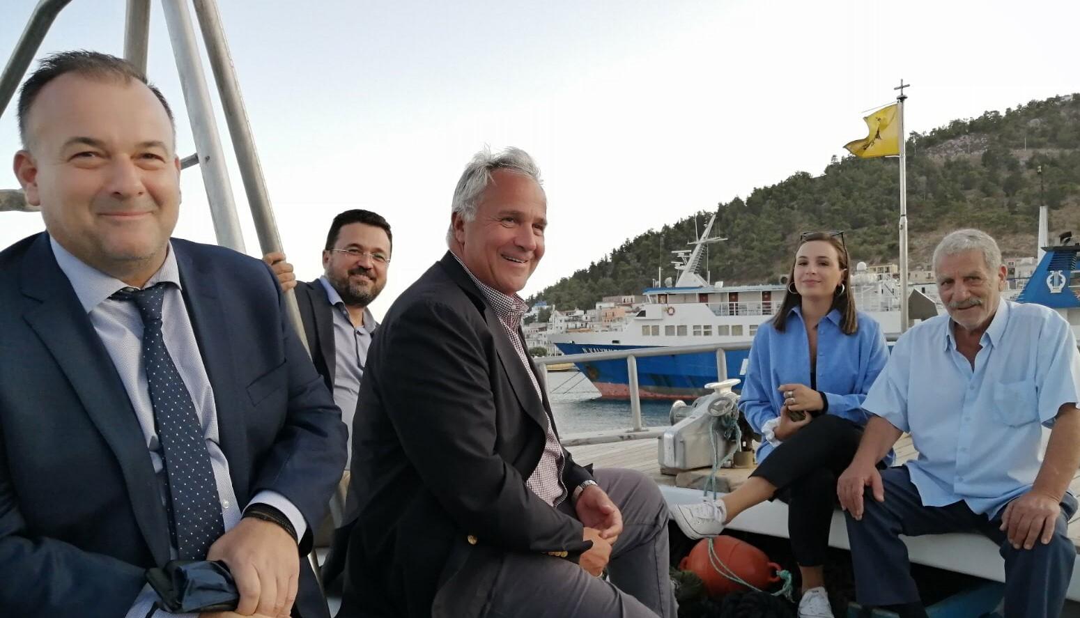 Ιωάννης Παππάς: Έμπρακτη στήριξη της παράκτιας αλιείας από́ το Υπ. Αγροτικής Ανάπτυξης