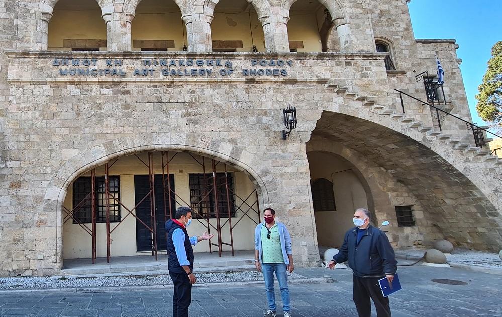 Δημοπρατήθηκε το έργο για την Πινακοθήκη στη Μεσαιωνική πόλη  Σε εξέλιξη ο διαγωνισμός