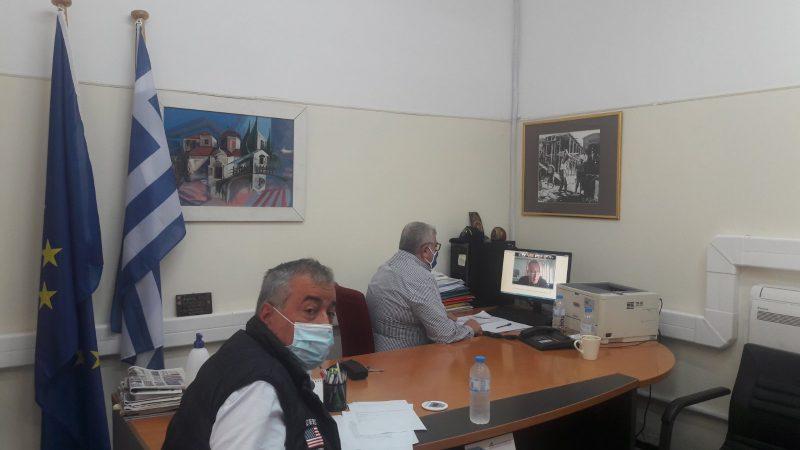 Απόφαση για τοπικό σχέδιο Διατήρησης και Διαχείρισης για το ελάφι πλατώνι στη  Ρόδο  Ευρεία τηλεδιάσκεψη εργασίας με το Υπουργείο Περιβάλλοντος για το θέμα, με πρωτοβουλία του  Αντιπεριφερειάρχη Φιλήμονα Ζαννετίδη