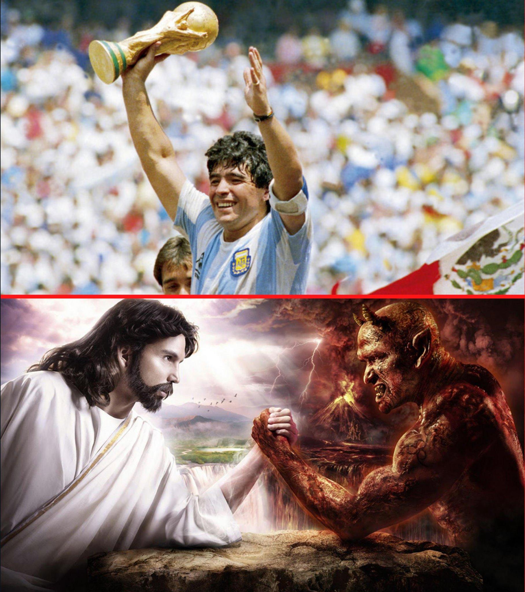 """Σταμάτης Μαργέλλος . Ντιέγκο Μαραντόνα """"Θεός ή Διάβολος; Ή μήπως και τα δύο σε ένα;"""""""