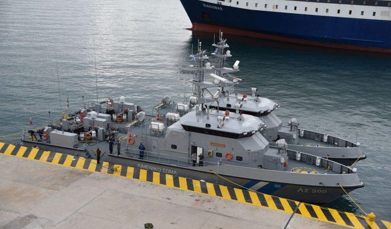 video Δύο υπερσύγχρονα νέα περιπολικά σκάφη στη δύναμη του Λιμενικού Σώματος