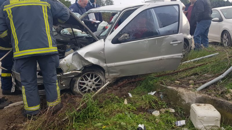 video – Σοκ με τροχαίο ατύχημα στα Αφάντου….