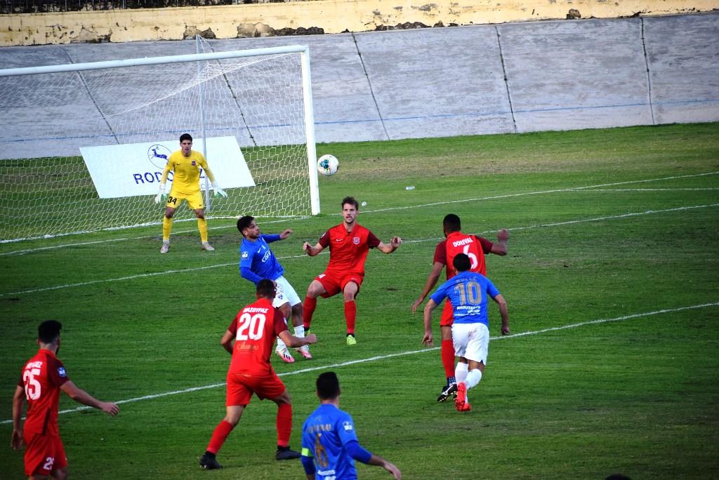 Δείτε φάσεις και γκολ από το παιχνίδι Τρίκαλα – Διαγόρας 0-1