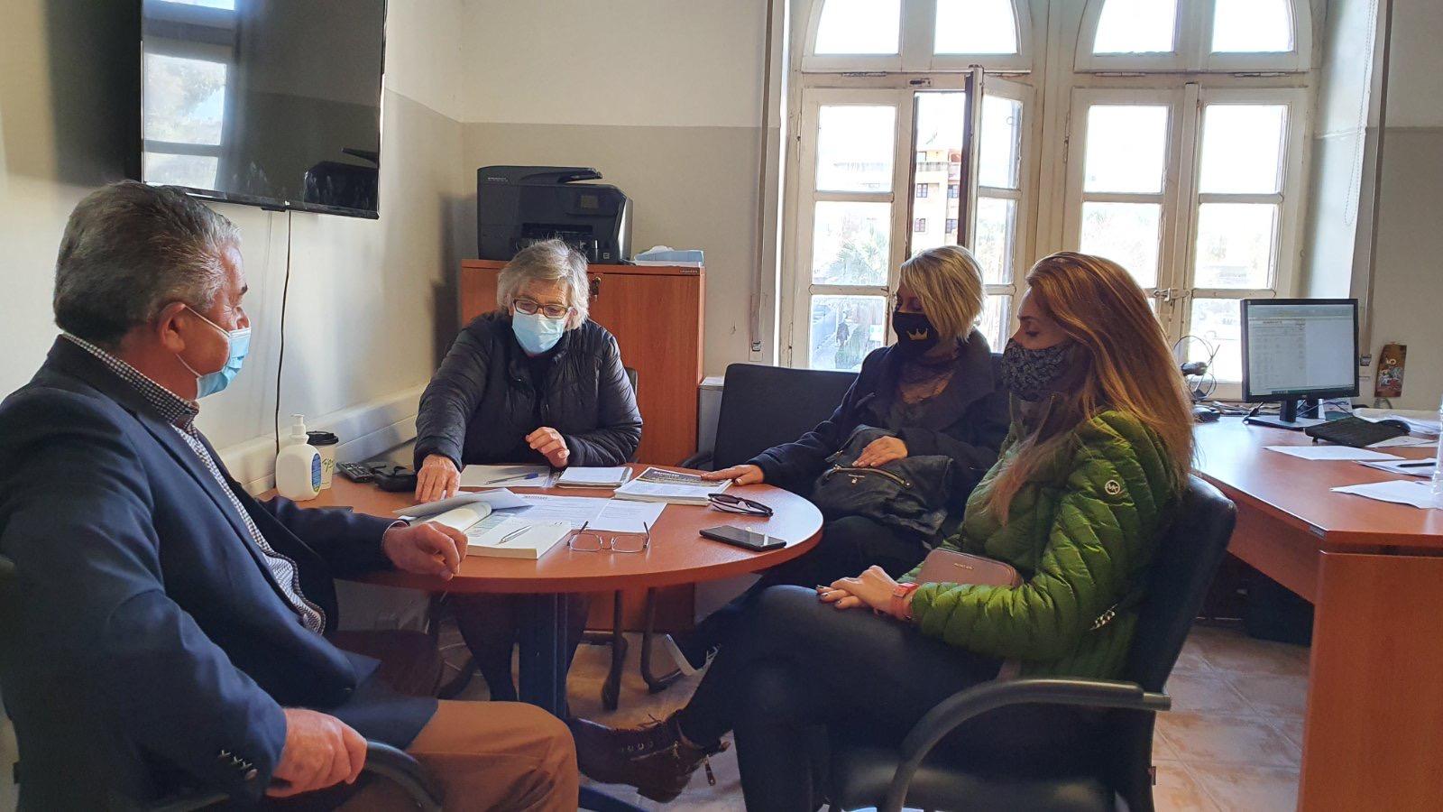Συνάντηση εργασίας του αντιπεριφερειάρχη Μεταφορών με την ΕΥΘΥΤΑ