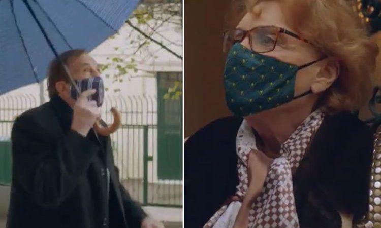 Δείτε το σποτάκι για τον εμβολιασμό με πρωταγωνιστές τον Γιώργο  Κωνσταντίνου και την  Μάρω Κοντού