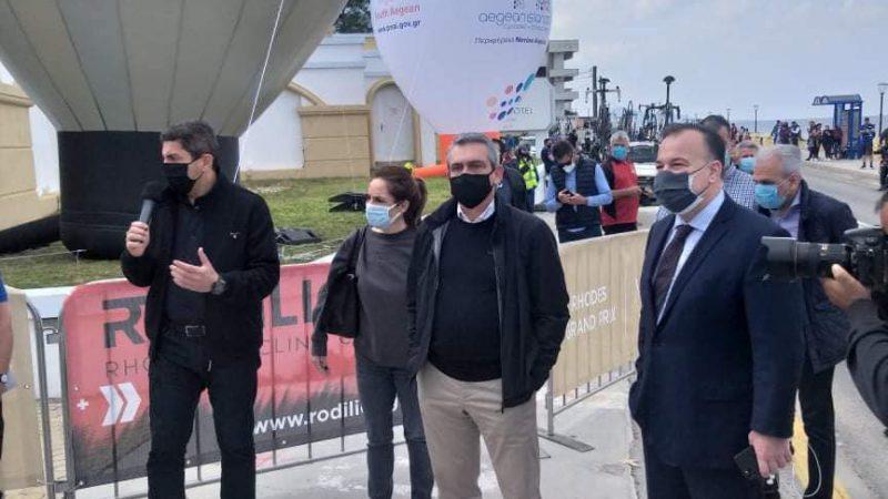 Ιωάννης Παππάς: «Οι διεθνείς αγώνες ποδηλασίας στη Ρόδο, έδωσαν το έναυσμα για επανεκκίνηση»