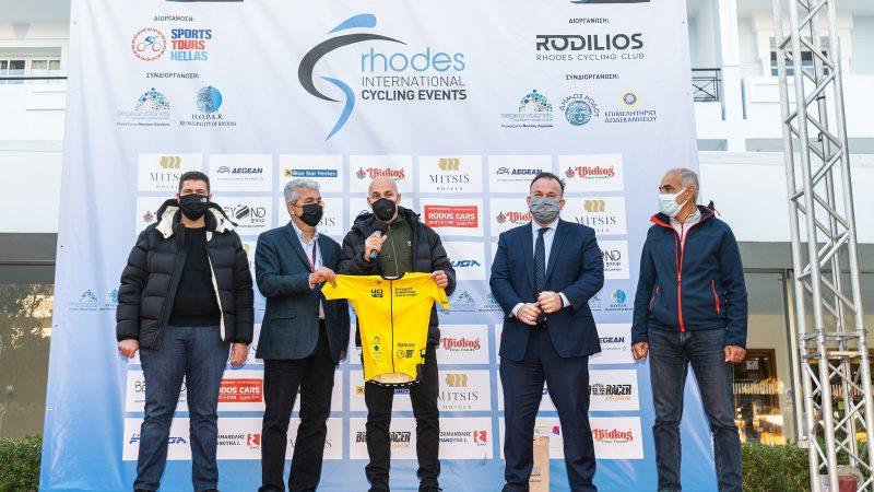 Παρόντος του υφυπουργού περιβάλλοντος και ενέργειας οι απονομές στο 2ο ΕΤΑΠ του Internatioan Tour of Rhodes