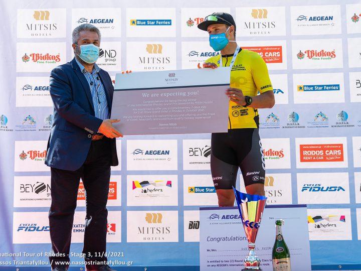 Ο Νορβηγός Fredrik Dversnes της Team Coop είναι ο μεγάλος νικητής στο International Tour of Rhodes