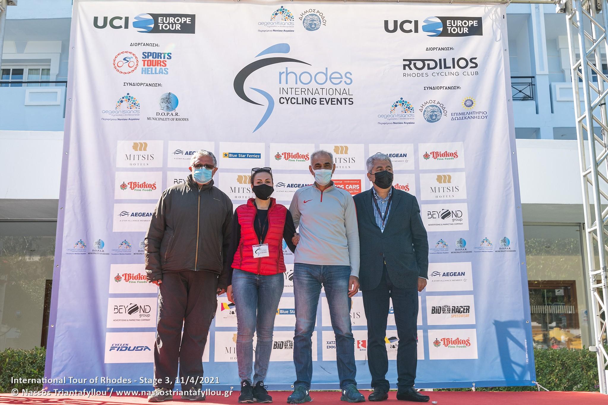video Ο πρωτεργάτης των αγώνων ποδηλασίας Γ. Παπασταματάκης μίλησε στο in12