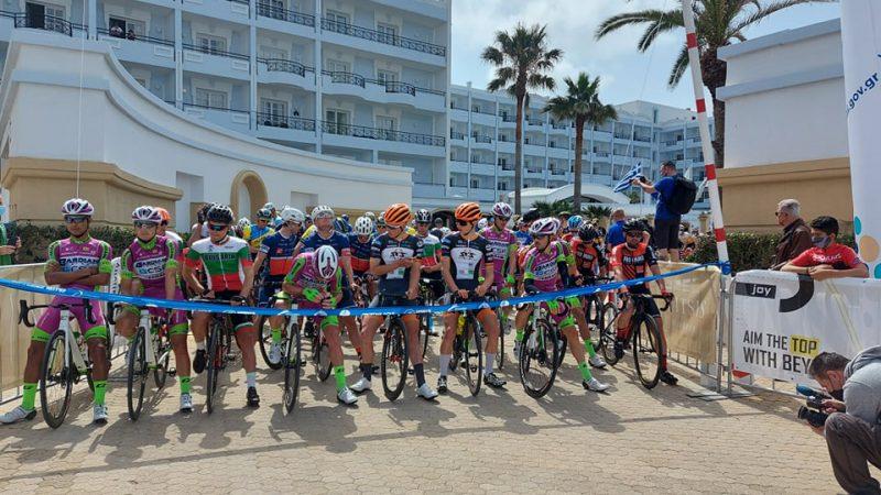 Τα αποτελέσματα στον σημερινό διεθνή ποδηλατικό γύρο της Ρόδου.
