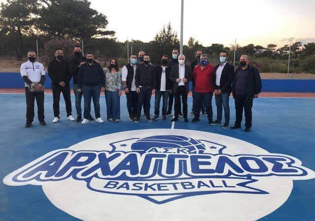 Τζαμπολ – εγκαινίων στο γήπεδο Αρχαγγέλου στην Λιβάδα