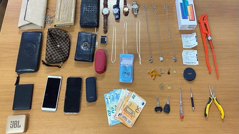 Συνελήφθησαν άμεσα δύο μέλη εγκληματικής ομάδας που μετέβησαν στη Ρόδο με σκοπό τη διάρρηξη κατοικιών