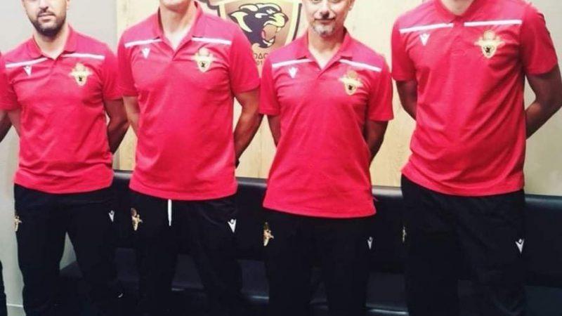 Το προπονητικό team της Ακαδημίας των Πανθήρων