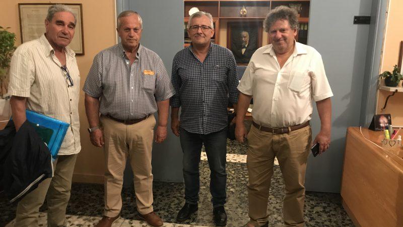 Επίσκεψη κλιμακίου της ΕΑΣ ΣΕΓΑΣ Δωδεκανήσου στα νησιά Κω, Κάλυμνο, Λέρο, Πάτμο.