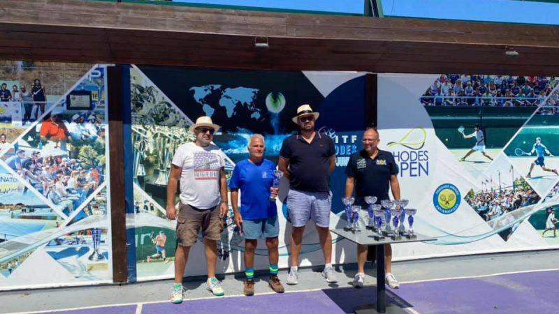 Ολοκληρώθηκε με επιτυχία το I.T.F. Senior S200- Rhodes Open