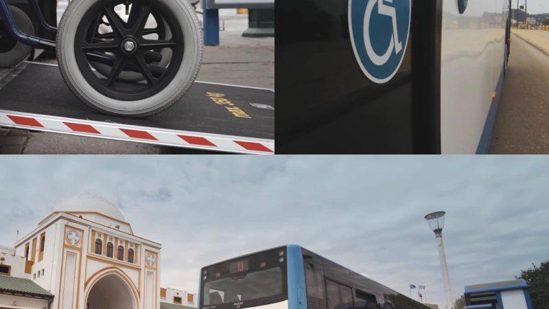 Προτεραιότητα της Δ.Ε.Σ. ΡΟΔΑ η προσβασιμότητα των ΑμεΑ στις αστικές  συγκοινωνίες  -Εγκαθίστανται συστήματα ηχητικής πληροφόρησης για το δρομολόγιο και το  σημείο όπου βρίσκεται το λεωφορείο.